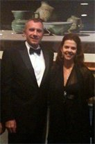 Joy Macci & Joe Montana @Dallas Cowboys Event