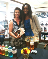 Joy Macci & Venus Williams @Dallas Book Signing